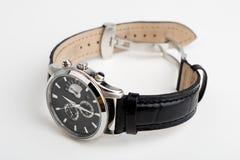 Geïsoleerdes het horloge van de hand Royalty-vrije Stock Foto