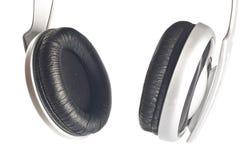 Geïsoleerdes hoofdtelefoons Stock Foto