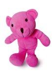 Geïsoleerdes teddybeer Stock Afbeeldingen