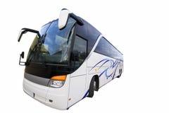 Geïsoleerdet bus Stock Foto's