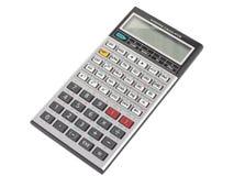 Geïsoleerdet de calculator van de techniek royalty-vrije stock foto