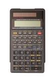 Geïsoleerdet de calculator van de techniek Stock Foto's