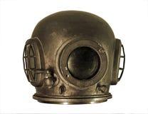 Geïsoleerdet het duiken helm stock foto's