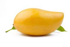 Geïsoleerdet mango Royalty-vrije Stock Afbeelding
