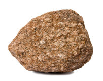 Geïsoleerdet rots Royalty-vrije Stock Afbeelding