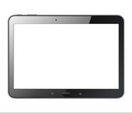 Geïsoleerdet tablet Royalty-vrije Stock Afbeeldingen