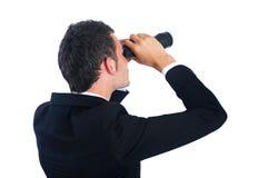 Geïsoleerdeu bedrijfsmens Royalty-vrije Stock Fotografie