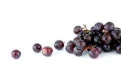 Geïsoleerdeu druiven Royalty-vrije Stock Foto