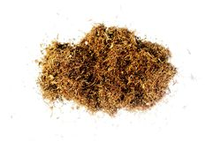 Geïsoleerdeu tabak Stock Afbeeldingen