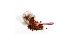 Geïsoleerdeu Turkse Koffie Stock Foto's