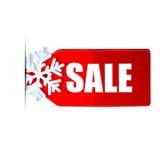 Geïsoleerdev de etikettendecoratie van Kerstmis Royalty-vrije Stock Afbeelding