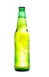 Geïsoleerdev fles Royalty-vrije Stock Afbeelding