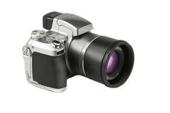 Geïsoleerdew fotocamera Stock Afbeeldingen
