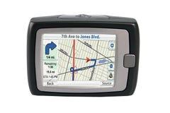 Geïsoleerdew GPS royalty-vrije stock foto