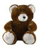 Geïsoleerdew teddybeer Stock Foto's