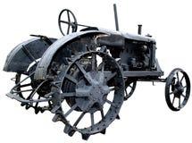 Geïsoleerdew verouderde uitstekende tractor 3 Royalty-vrije Stock Afbeelding