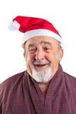 Geïsoleerdez echte Kerstman Royalty-vrije Stock Foto