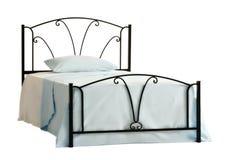 Geïsoleerdg bed Royalty-vrije Stock Fotografie