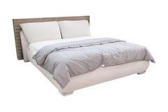 Geïsoleerdg bed Royalty-vrije Stock Afbeelding