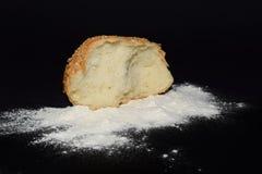 Geïsoleerdg broodje Royalty-vrije Stock Afbeelding