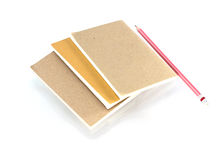 Geïsoleerdg notaboek Royalty-vrije Stock Foto