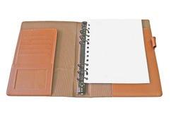 Geïsoleerdg notaboek Royalty-vrije Stock Afbeeldingen