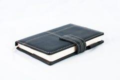 Geïsoleerdg notaboek Stock Afbeeldingen