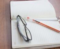 Geïsoleerdg notaboek Stock Afbeelding