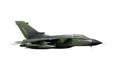 Geïsoleerdh fighterjet Royalty-vrije Stock Foto