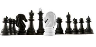 Geïsoleerdi schaak Stock Fotografie