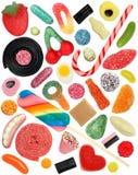 Geïsoleerdi Suikergoed Royalty-vrije Stock Foto's