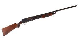 Geïsoleerdl jachtgeweer Stock Afbeelding