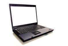 Geïsoleerdl Laptop stock foto