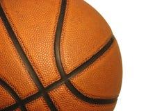 Geïsoleerdn basketbal op witte achtergrond Stock Foto