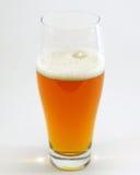 Geïsoleerdn glas bier Royalty-vrije Stock Foto's