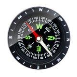 Geïsoleerdn kompas Stock Fotografie