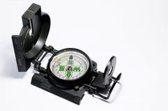 Geïsoleerdn kompas Stock Foto's
