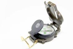 Geïsoleerdn kompas stock afbeelding