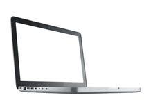 Geïsoleerdn laptop van de computer Stock Afbeelding