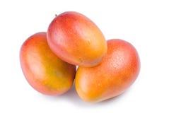 Geïsoleerdn mangofruit Stock Afbeelding