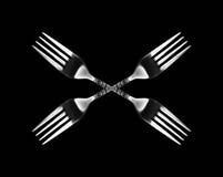 Caleidoscopische vork Stock Fotografie