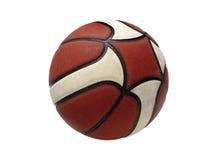 Geïsoleerdp basketbal Stock Fotografie