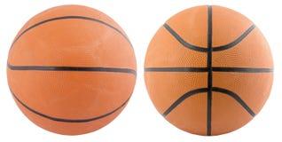 Geïsoleerdp basketbal Stock Afbeeldingen
