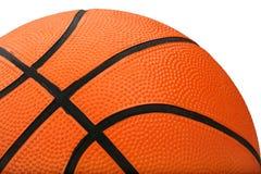 Geïsoleerdr basketbal Stock Foto's