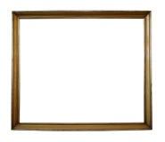 Geïsoleerdr frame met weg Royalty-vrije Stock Foto