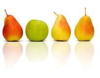 Geïsoleerdr fruit Royalty-vrije Stock Foto's