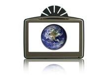 Geïsoleerdr GPS Stock Afbeeldingen