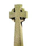 Geïsoleerdr Keltisch kruis Stock Foto