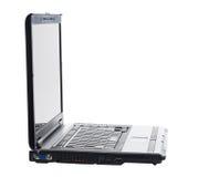 Geïsoleerdr Laptop Stock Foto's