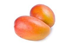Geïsoleerds mangofruit Stock Afbeeldingen
